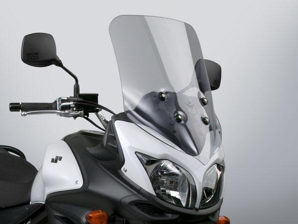 V-STROM650XT ABS NATIONAL CYCLE VStreamウインドシールド ライトスモーク H655×W450mm DAYTONA(デイトナ)