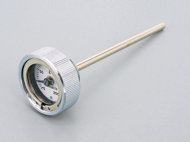 SR400・SR500(78~08年・10年) ディップスティック付油温計 クロームメッキ(O-リング付き) DAYTONA(デイトナ)