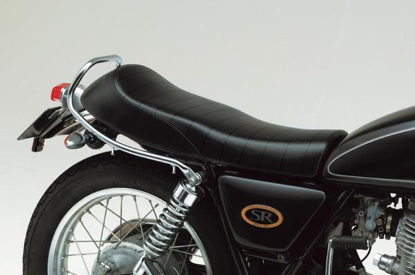 SR400・SR500(80~08年) COZYシート ツーリングダブル ロールタイプ ブラック DAYTONA(デイトナ)