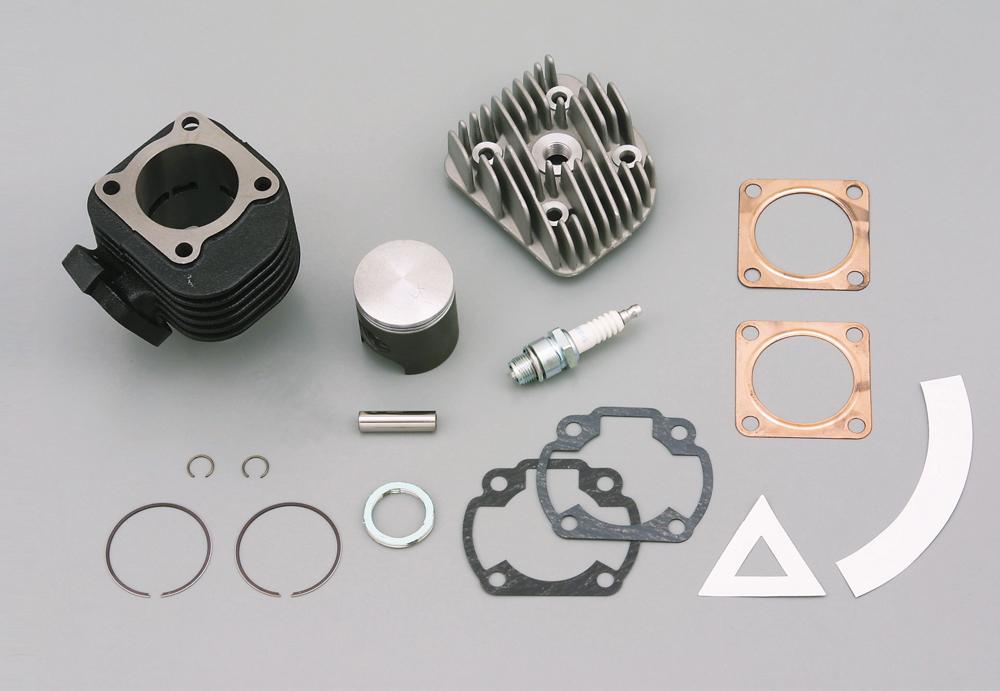 スーパーJOG ZR(ALL)・リモコンJOG/ZR/C スーパーDRAGビッグボアキット(スチールシリンダー)48×39.2(71cc) DAYTONA(デイトナ)