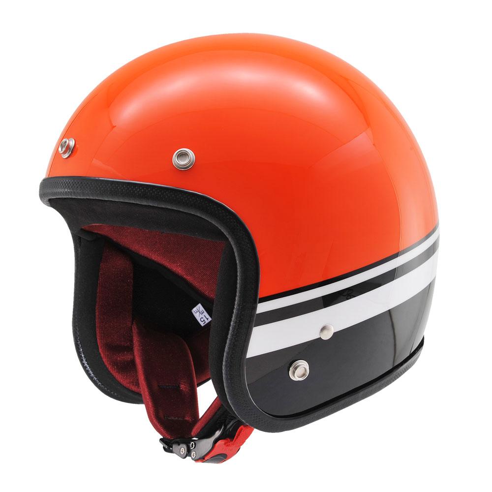 Hattrickオリジナルジェット BLシリーズ HT DA01 BL オレンジ/ブラック XLサイズ DAYTONA(デイトナ)