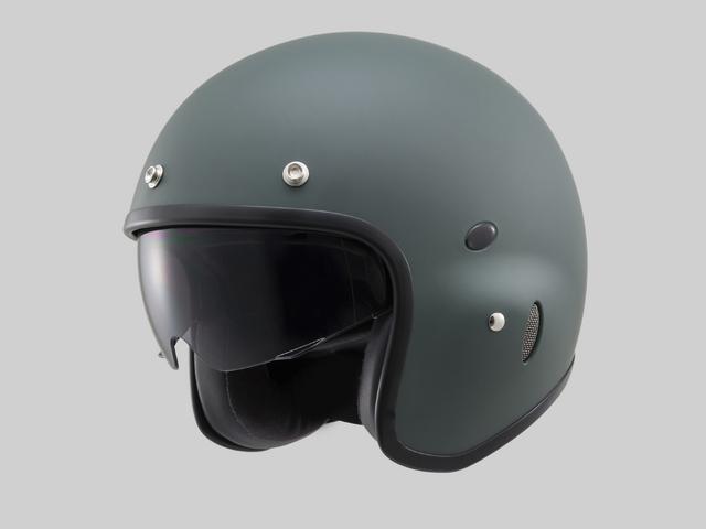 Hattrick パイロットタイプヘルメット PH-1 マットグリーン Mフリーサイズ(55~57cm未満) DAYTONA(デイトナ)