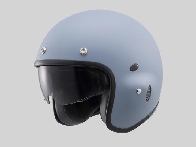 Hattrick パイロットタイプヘルメット PH-1 マットグレー Mフリーサイズ(55~57cm未満) DAYTONA(デイトナ)
