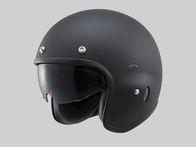 Hattrick パイロットタイプヘルメット PH-1 マットブラック Mフリーサイズ(55~57cm未満) DAYTONA(デイトナ)