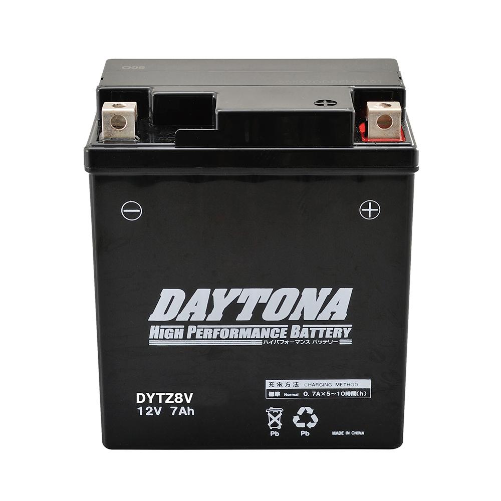 MT-25 高品質 ハイパフォーマンスバッテリー 国内即発送 DYTZ8V GSユアサ DAYTONA デイトナ GTZ8V互換