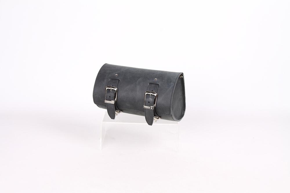 TB-6 ヴィンテージレザーツールバッグ(ブラック) DEGNER(デグナー)