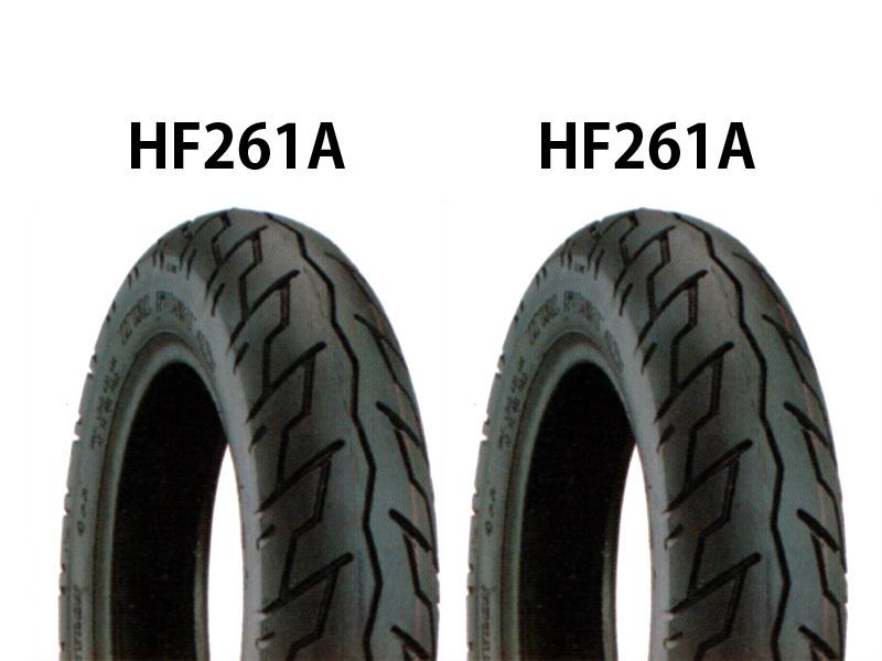 スポーツスター(SPORTSTER) タイヤ前後セット HF261A 100/90-19・HF261A 130/90-16 DURO(デューロ)