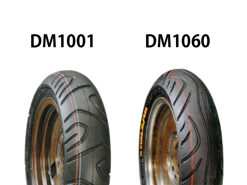 バーグマン200(BURGMAN) タイヤ前後セット DM1060 110/90-13・DM1001 130/70-12 DURO(デューロ)