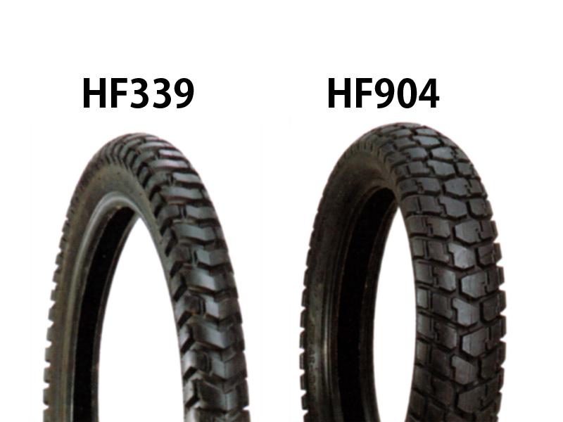 XR250 タイヤ前後セット HF339 3.00-21・HF904 4.60-18 DURO(デューロ)