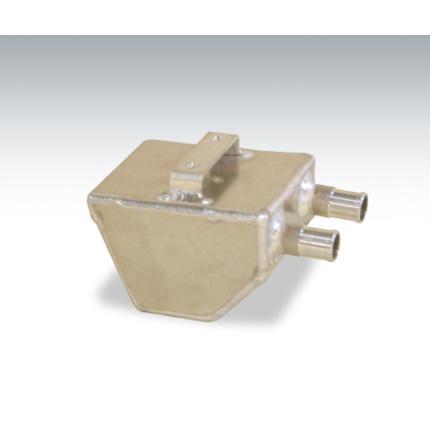 SR400 オイルキャッチタンク(角) アルミニウム製 DELL-SARA(デルスラーラ)