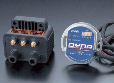 ハーレー(汎用) デジタル・パフォーマンス・イグニッションシステム DYNA2000i本体&DC1-1×2pc DYNATEK(ダイナテック)
