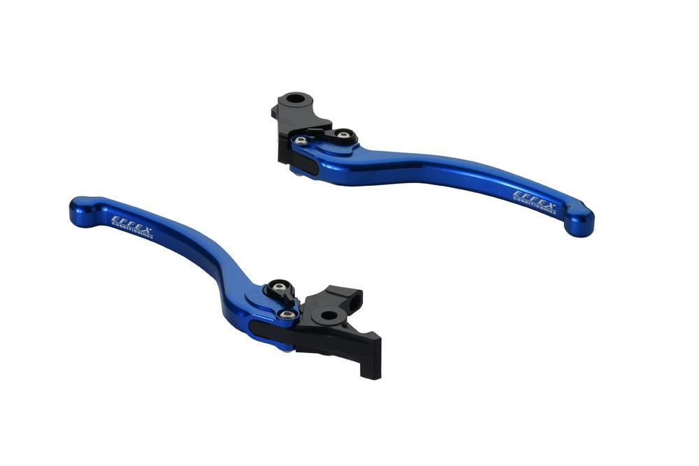 CB400SF・SB スムースフィットレバー ブルー EFFEX(エフェックス)