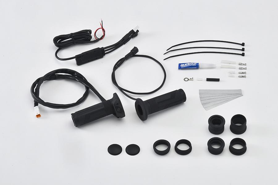 グリップヒーター スイッチ一体型 Φ22.2用 115/120/130mm EFFEX(エフェックス)