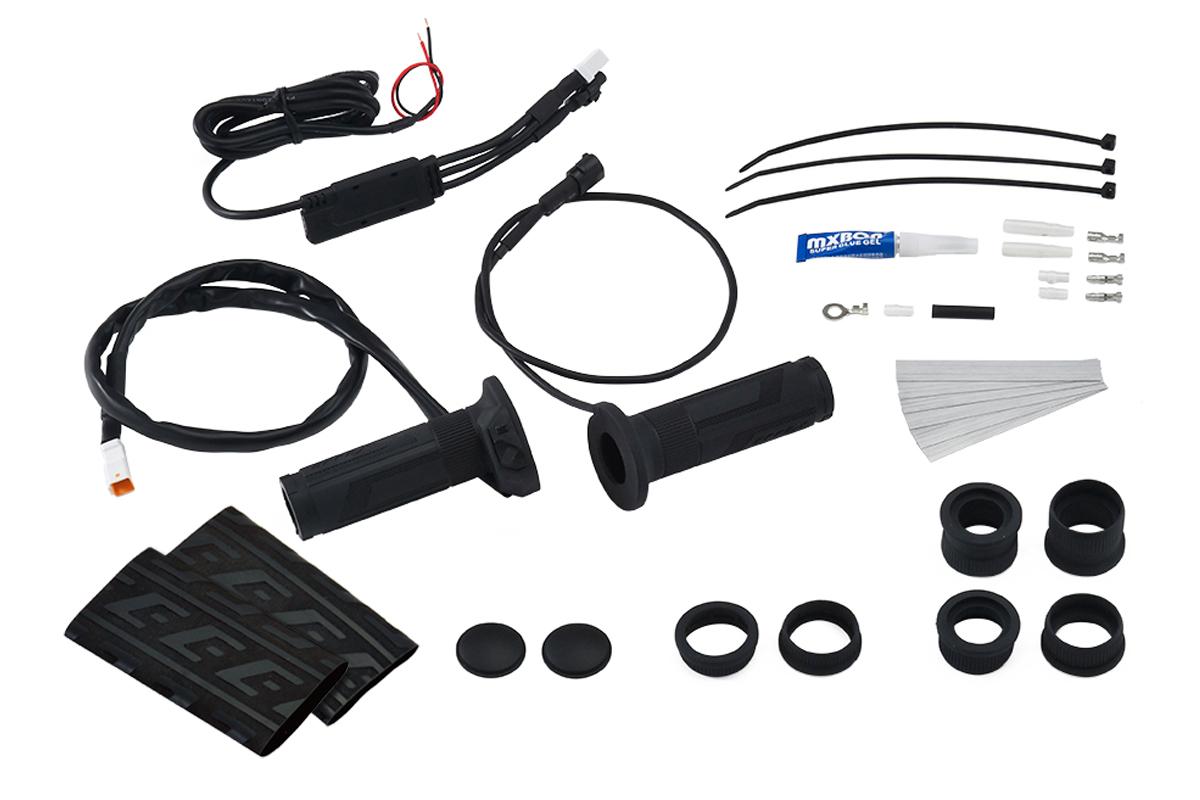 グリップヒーター スイッチ一体型 φ22.2用(115/120/130mm) EFFEX(エフェックス)