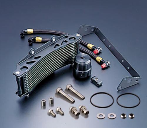 V-MAX1200(96~08年) オイルクーラーキット ラウンド #6 9-13R ブラック仕様 EARL'S(アールズ)