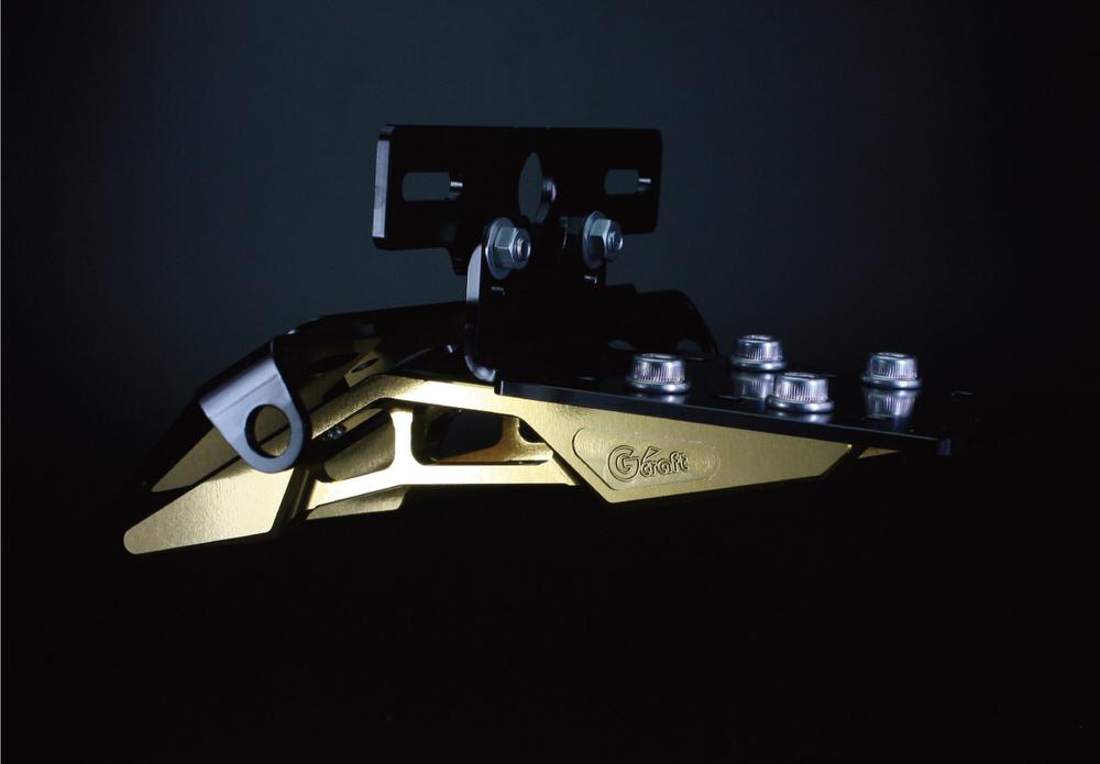 モンキー(MONKEY) ビレットライセンスキット ゴールド Gクラフト(G-CRAFT)