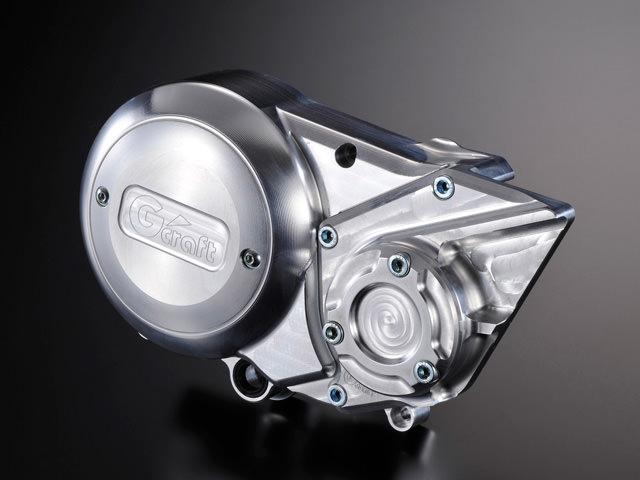 アルミビレットジェネレーターカバー20mmオフセット Gクラフト(G-CRAFT)