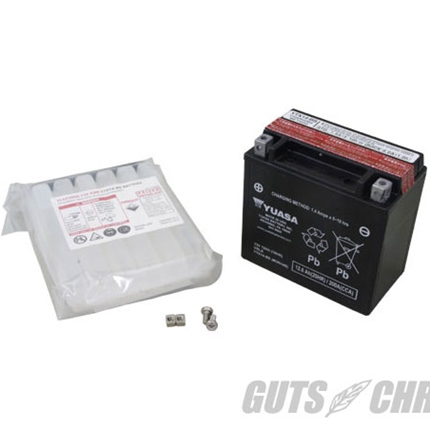 YTX14-BS ユアサバッテリー(メンテナンスフリー)65948-00互換 YUASA USA