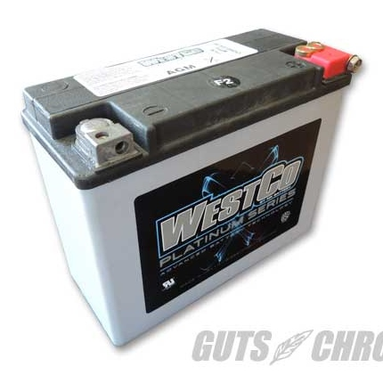 WCP18 PLATINUMシリーズ(AGMバッテリー)純正66010-82B互換 WESTCO(ウエストコ)