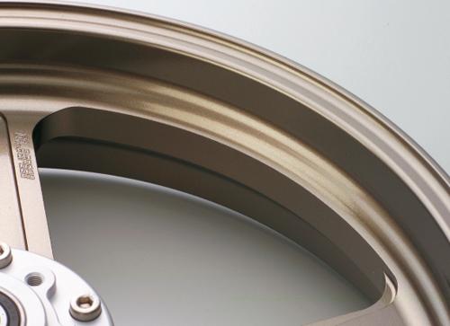 Z1000(07~09年) アルミニウム鍛造ホイール TYPE-Cフロント用 350-17 ブロンズ GALE SPEED(ゲイルスピード)
