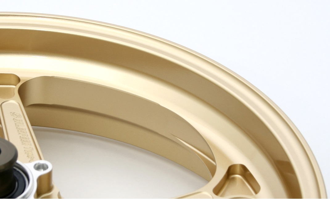CB1100(10~13年) アルミ鍛造ホイール TYPE-N ガラスコーティング仕様 リア 450-18 ゴールド GALE SPEED(ゲイルスピード)