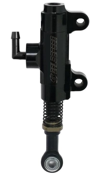 リア ブレーキマスター Φ12ロッドエンド(M6)ブラック 取付ピッチ(49mm 4mmオフセット) GALE SPEED(ゲイルスピード)