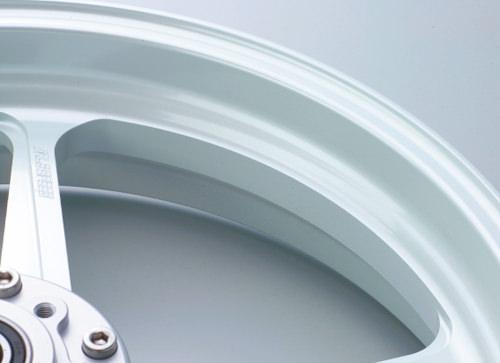 DUCATI Scrambler800 アルミニウム鍛造ホイール TYPE-R リア用 550-17 ホワイト Gコート仕様 GALE SPEED(ゲイルスピード)