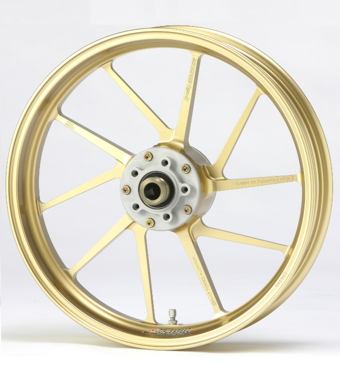 DUCATI Scrambler800 アルミニウム鍛造ホイール TYPE-R フロント用 350-17 ゴールド Gコート仕様 GALE SPEED(ゲイルスピード)