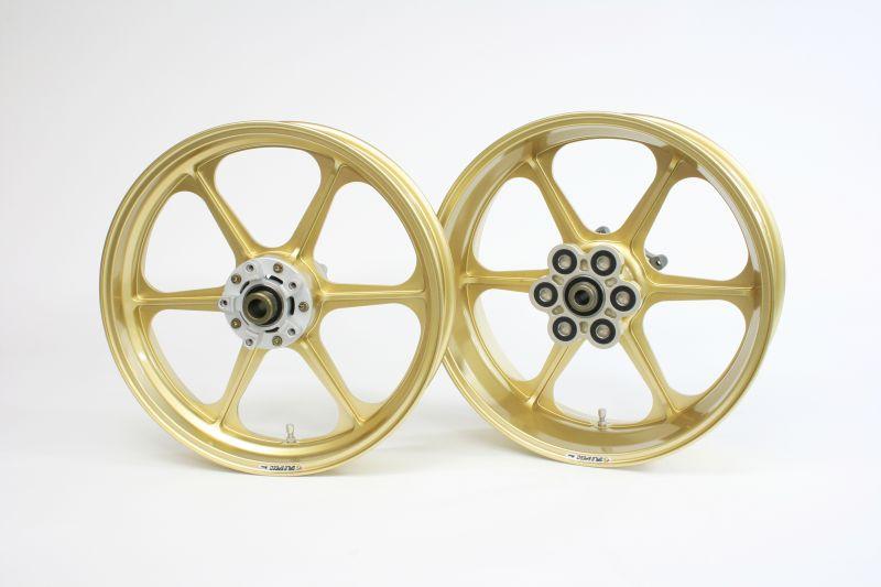 GS1200SS(01~03年) アルミ鍛造ホイール (TYPE-N) リア用 550-17 ゴールド GALE SPEED(ゲイルスピード)