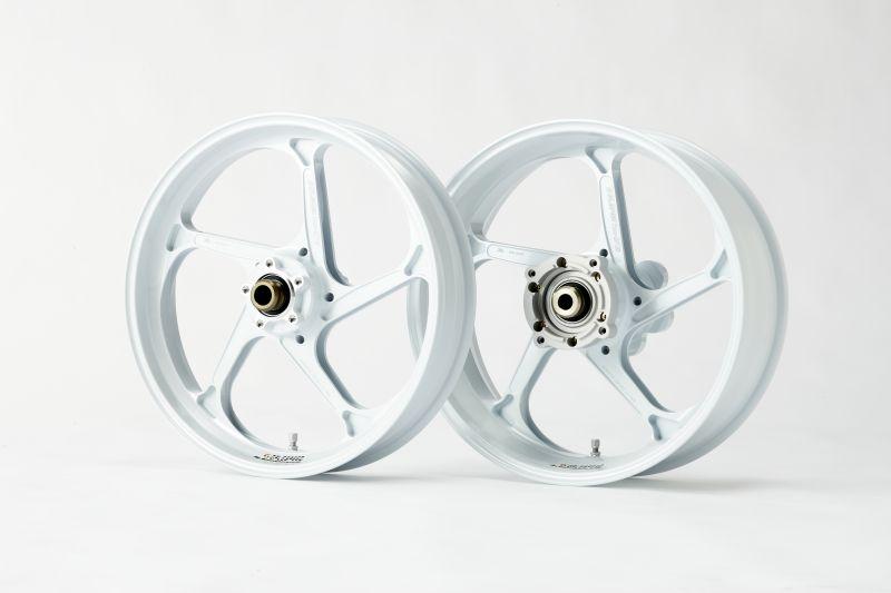 CBR250RR/(ABS)17年 アルミ鍛造ホイール TYPE-GP1S R 425-17 パールホワイト GALE SPEED(ゲイルスピード)