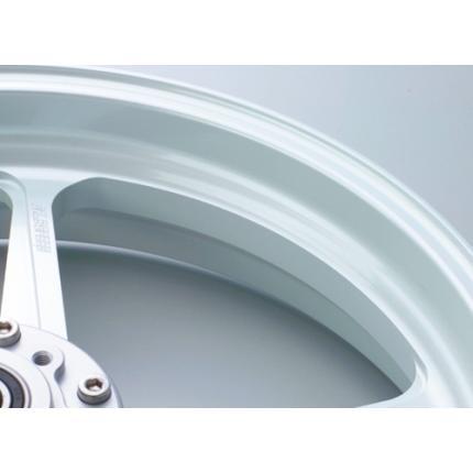 TYPE-C(アルミニウム)鍛造ホイール パールホワイト R550-17 GALE SPEED(ゲイルスピード) GSX-R750 '11
