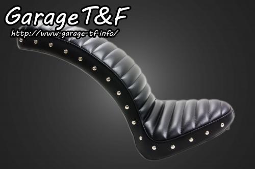 ドラッグスター400(DRAGSTAR) スタッド付コブラシート(スタンダードモデル専用) ガレージT&F