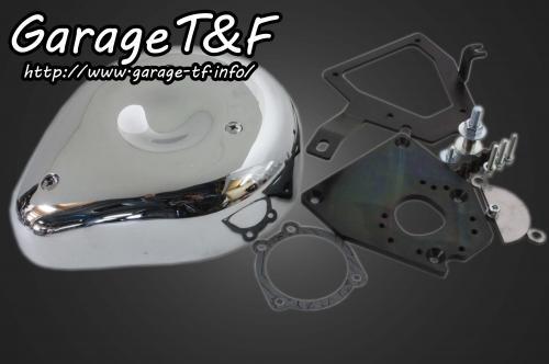 シャドウ400(SHADOW) ティアドロップエアクリーナーキット ガレージT&F