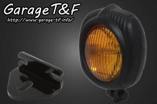 【送料無料】 250TR エレクトロライン54レプリカヘッドライト(ブラック)&ライトステー(タイプE)KIT ガレージT&F