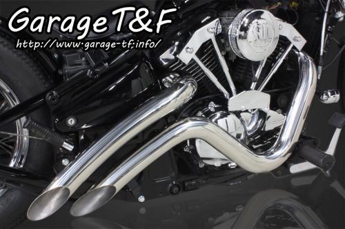 バルカン400/クラシック ベントマフラー(ステンレス)タイプ2 ガレージT&F