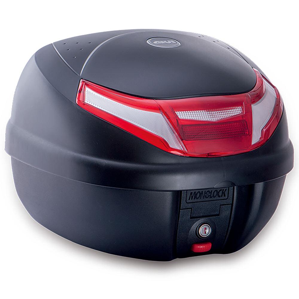 E30RN リアボックス 30L(リットル) E30RN TOUR 2シリーズ ストップランプ無し 未塗装ブラック GIVI(ジビ)