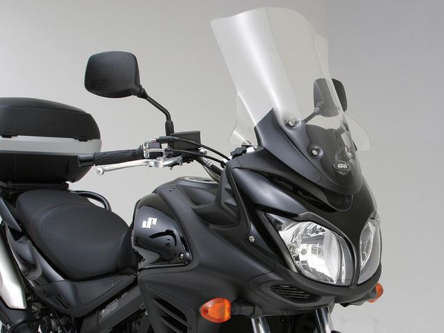 V-STROM650XT ABS エアログイナミックスクリーン 3101DT クリア GIVI(ジビ)