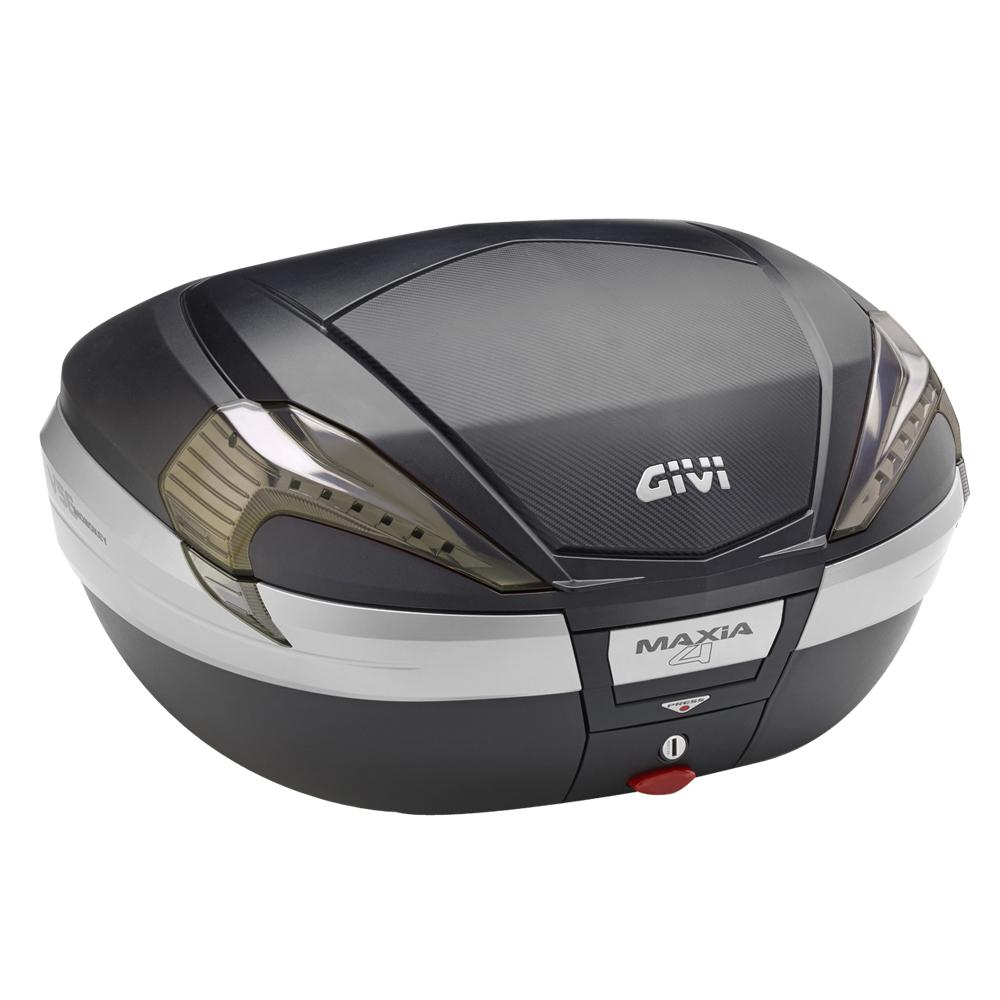 モノキーケース V56NNT TECH 無塗装ブラック/カーボン GIVI(ジビ)