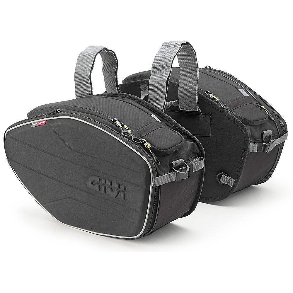 可変式サイドバッグEA100B 24~30リットル(片側) GIVI(ジビ)