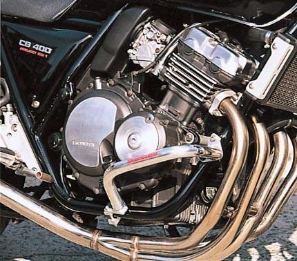 CB400SF(~98年) スラッシュガード スタンダードタイプ バフ仕上げ(サブフレーム無) ゴールドメダル(GOLD MEDAL)