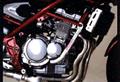 バンディット250(BANDIT) スラッシュガード スタンダードタイプ バフ仕上げ(サブフレーム無) ゴールドメダル(GOLD MEDAL)