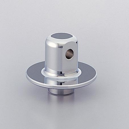 スティード600(STEED) リアドロッパー 5cmダウン クロームメッキ HURRICANE(ハリケーン)