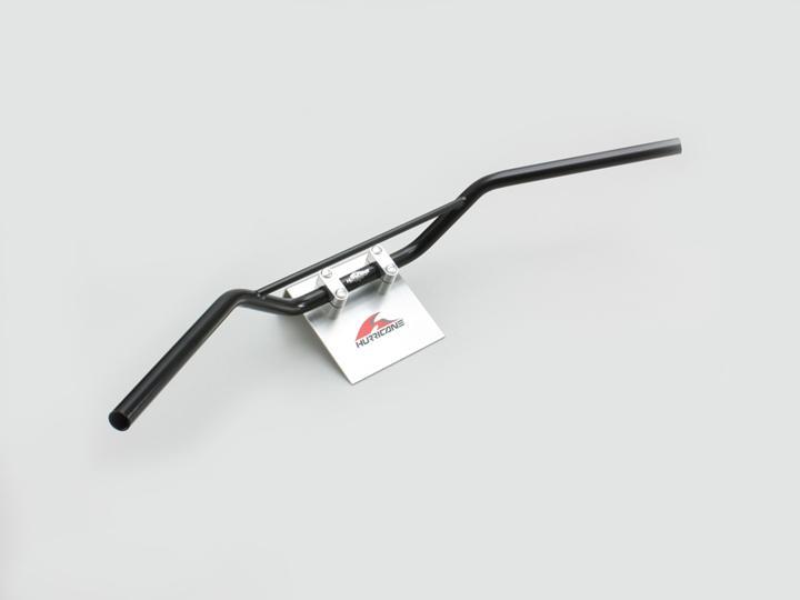 XJR400R(98~00年) トラッカーHIGH ブリッジ付 ハンドルセット ブラック HURRICANE(ハリケーン)