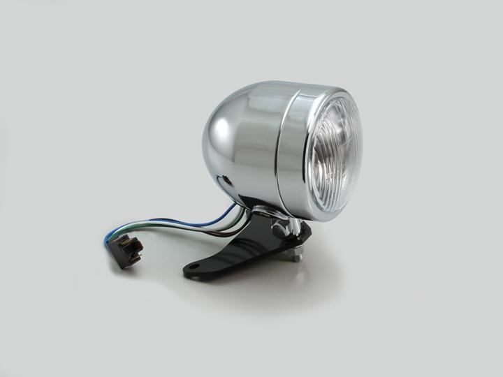 レブル250(Rebel250)MC49 4インチ ブレットライトキット クロームメッキ HURRICANE(ハリケーン)