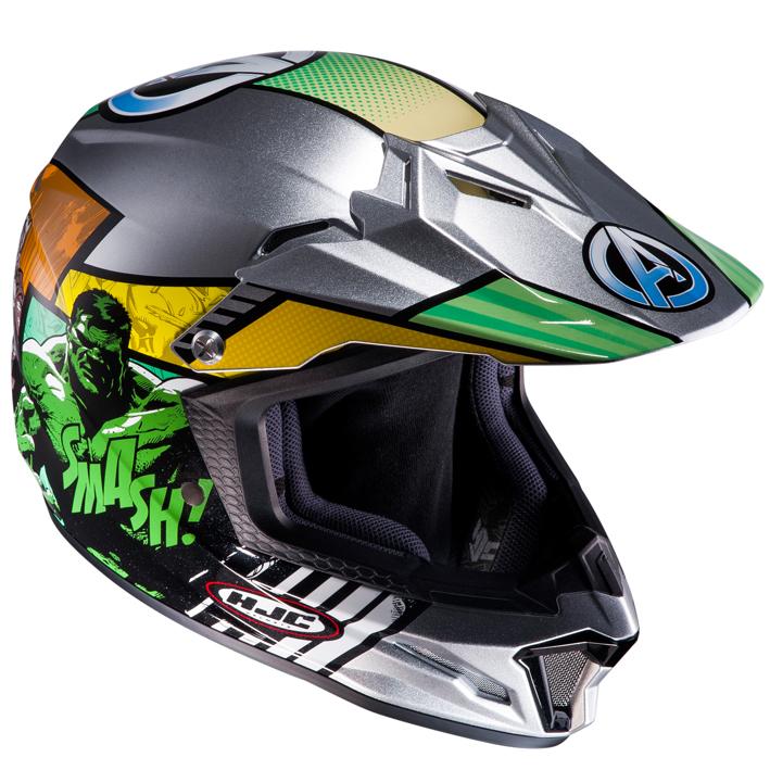HJH108 CL-XY2 オフロードヘルメット アベンジャーズ L(53-54)サイズ HJC