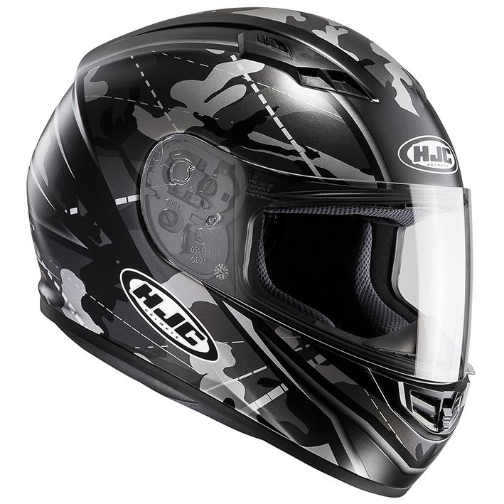 HJH114 CS-15 ソンタン フルフェイスヘルメット ブラック S(55-56)サイズ HJC