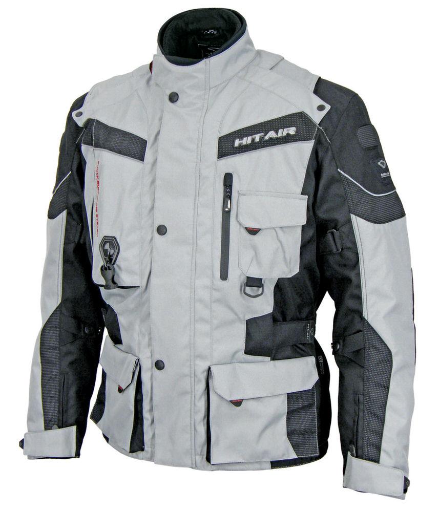 EU-6 エアバッグジャケット グレー Mサイズ hit-air(ヒットエアー)