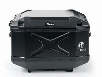 XPLORER(エクスプローラー)トップケース 45L ブラック HEPCO&BECKER(ヘプコアンドベッカー) 汎用