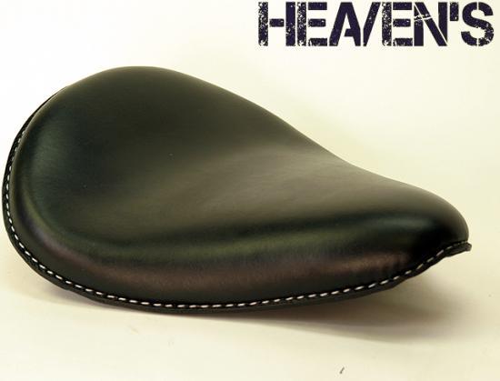牛本革スタンダードフォーム バックサイドアップ スムース ブラック ヘブンズシート(HEAVEN'S)