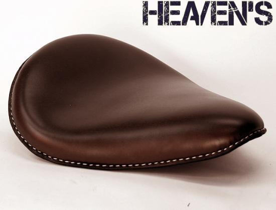 牛本革スタンダードフォーム バックサイドアップ スムース ブラウン ヘブンズシート(HEAVEN'S)